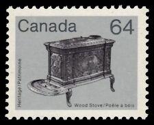 "CANADA 932 - Artifacts ""Wood Stove""  Abitibi Paper 1983 (pa43649)"