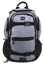 NEW + TAG BILLABONG COMBAT MENS BOYS BACKPACK SKATE SCHOOL GYM BAG 35L GREY HTHR