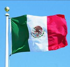 Design 3'x5' Ft National Mexico Flag Mexican Country Flag Polyester Grommets