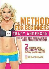 Tracy Anderson The Method for Beginners 5060020704789 DVD Region 2