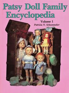 Vintage Effanbee Patsy Dolls incl. Skippy Mimi Marilee Joan Etc. / Scarce Book
