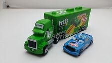 Disney Pixar Car No.86 Chick Hicks Mack Truck & Dinoco Chick Hicks Car Toy Loose