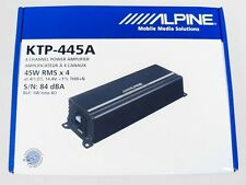 Alpine KTP-445A Power Pack 4-Channel 45W Car Amplifier NEW (KTP445A) Ship Fast!