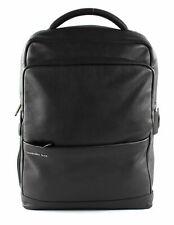 Mandarina Duck Backpack Cuir Detroit Black
