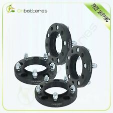 """4 pcs 5x150 1"""" wheel spacers 14x1.5 studs for Toyota Tundra  Sequoia CB 110mm"""
