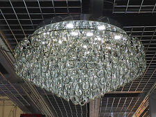 Hand Made Murano grey Glass Flush Chandelier LED Ceiling light Lamp ITPL80MURA