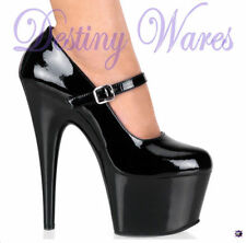 Stiletto Mary Janes Synthetic Heels for Women
