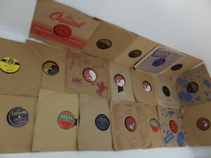 Bulk Lot of 19 x Vintage 78rpm Records