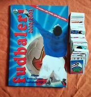 YUGOSLAVIA FOOTBALL LEAGUE 2002 2003 Serbia empty album + complete stickers set
