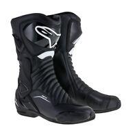 Alpinestars SMX 6 v2 Drystar Boot Black SALE All Sizes