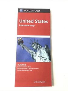 Rand McNally Folded Map: United States all Interstate and U.S. Highways