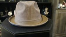 DOBBS FIFTH AVENUE SUEDE HAT with ORIGINAL BOX GREAT CONDITION