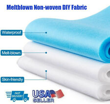 Waterproof Non-woven Fabric Meltblown Filter DIY Crafts Breathable Material USA