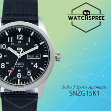 Seiko Men 5 Automatic Watch SNZG15K1