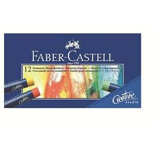 Faber-Castell Oil Pastel Crayons Studio Quality Box of 12 colours Professional