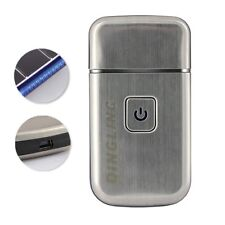 DINGLING USB Beard Shaver Mini Travel Stainless Steel Shaver RSCW-5088