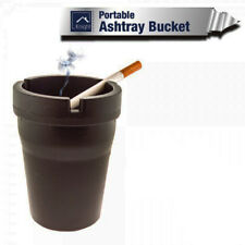 Portable Ashtray Travel Cigarette Bucket Car Cup Ash Holder Auto Bin Smoke Handy