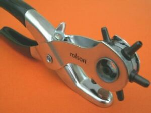 New Punch Pliers hole making Leather Horse Saddles Bridleless Stirrup straps