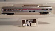 Z Scale Marklin 8763 Amtrak Passenger Dome Coach Car