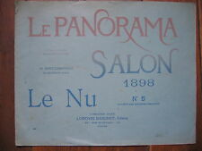 @@@ LE PANORAMA - SALON 1898 - N°5 - LE NU- TBE -