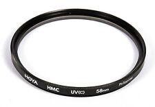 Hoya 58mm UV(C) HMC Thin Filter Threading, Medium Format Camera Lens, EX