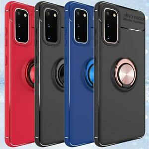 For Samsung A12 A32 A02 A52 A22 5G Case Shockproof Ring Cover + Screen Protector
