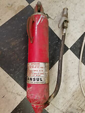 ANSUL MODEL 4-C 600 PSI DRY CHEMICAL FIRE EXTINGUISHER VINTAGE ANTIQUE