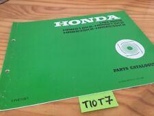 Tondeuse gazon Honda HRB HRM 215 K2 HRB HRM 535 K2 liste piéce détachée