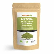 👉Nouveau Thé Vert Matcha Pur Bio Japonais Sachet 100 gr. Poudre 100% Naturel.