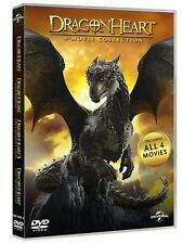 DRAGONHEART - 4 FILM COLLECTION (1996-2017)  DVD  REGION 4  SEAN CONNERY