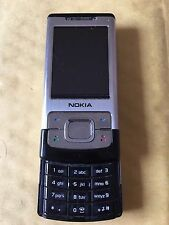 Nokia Slide 6500 - Silver (Unlocked) Mobile Phone
