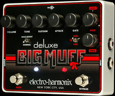 NEW ELECTRO HARMONIX  DELUXE BIG MUFF DISTORTION PEDAL w/ FREE US SHIPPING