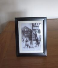 "Northern Soul; ""Lambretta Outside Wigan Casino"" a mounted and framed print"