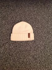 LADIES 'MISS SIXTY' IVORY BEANIE HAT. ONE SIZE. EXCELLENT CONDITION.
