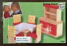 Plan Toys Doll House Dining Room - Neo Style 7306