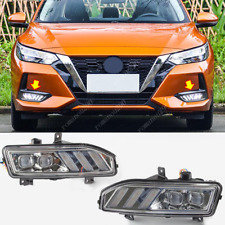 For Nissan Sentra 2020-21 LED Bumper DRL Daytime Running Lights/ Turning Lights