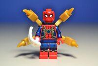 Lego Marvel Superheroes Infinity War Spiderman Iron Suit Minifigure 76108
