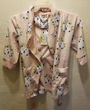 Kings n Queens by Aegean Apparel Girls size Small Cozy Ski Pajamas robe NWT Kids