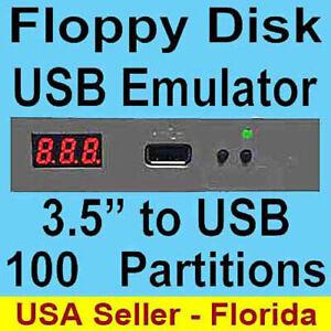 720kb USB to Floppy Disk Drive Emulator Yamaha Roland Korg 720kb