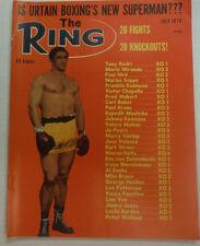 The Ring Boxing Magazine Tony Rodri & Mario Miranda July 1970 043015R