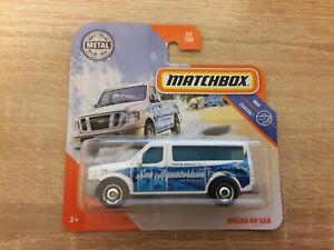 Matchbox Nissan NV Van - 1:64 1/64 MBX Coastal 83/100