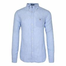 Gant Men`s Shirts Size XL 100% Linen