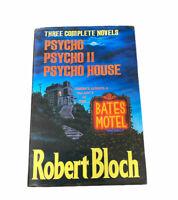 Robert Bloch-Psycho,Psycho II, & Psycho House(1st Edition 1993)3 Complete Novels