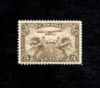 CANADA Scott #C1, 1928, 5c Olive, FIRST AIRMAiL, M-LH, VF  (SEE PHOTO)