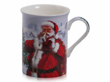 Christmas Santa Mug Fine Bone China - New & Boxed
