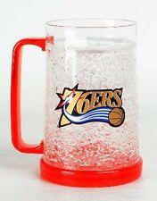 NBA, 16oz Crystal Freezer Mug, Philadelphia 76ers, NEW