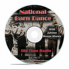 National Barn Dance, 837 Old Time Radio Country Music Shows OTR mp3 DVD G14
