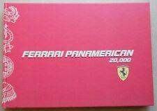 Ferrari Panamerican 20000 Tour Livre 3064/07 599 GTB Book No brochure Press