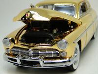 1950 Merc Ford Mercury 1 24 GT Car 25 Vintage 18 Carousel Gold 12 1949 1951 40 8