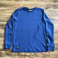 Rare Lifted Research Group Thermal Navy Heather Large EUC LRG Clothing